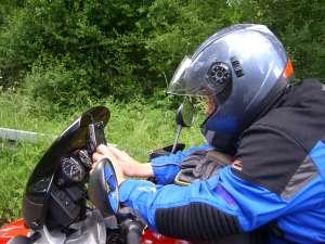 30. Mai 2009 - Rundtour durch Hessen - Q mit Navi (Zum Vergrößern anklicken/ca. 520 KB)