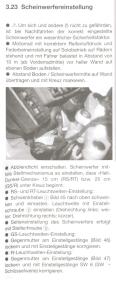 Anleitung - Scheinwerfereinstellung