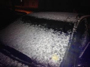 04. März 2015 - Schnee/zugefrorenes Auto