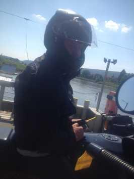 Weserüberfahrt mit der Fähre