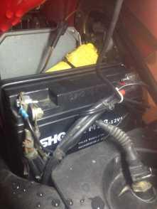 13. November 2015 - Batteriepole fetten