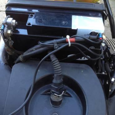 Neue, eingebaute Gelbatterie